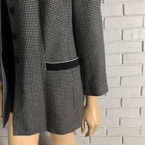 Escada Jackets & Coats - Escada by Margaretha Ley Vintage Checkered Blazer